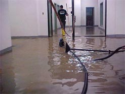 COMMERCIAL BUILDING WATER REMOVAL